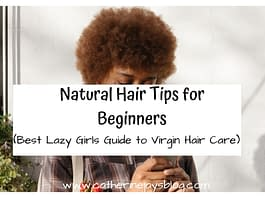 natural hair tips for beginners