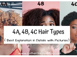 4a, 4b, 4c hair types