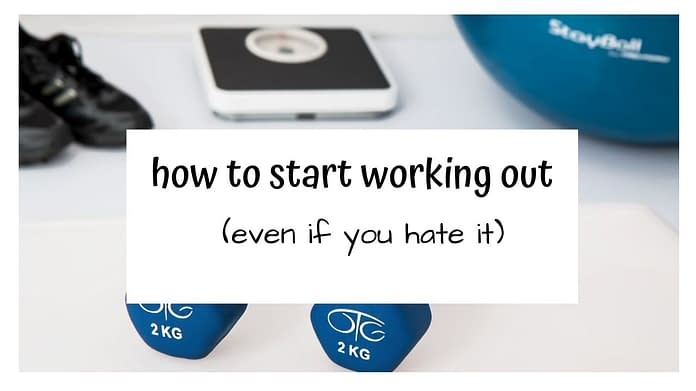 how to start working out